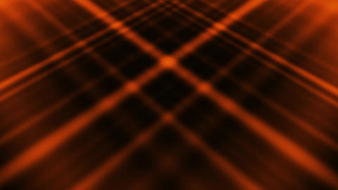 Orange Abstract Crossing Lines Animated Loopable Background Animation