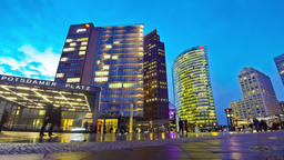 Potsdamer Platz - financial district of Berlin, Germany Footage