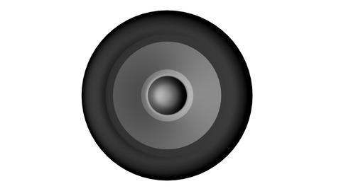 Speaker Front Animation