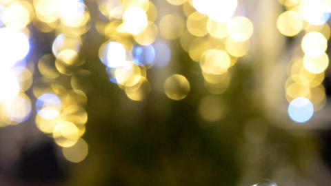 Background yellow bokeh Footage