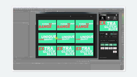 Free Package For Typro After Effects Template