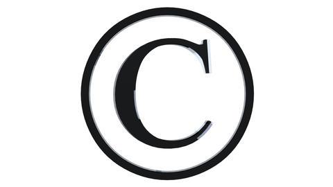Animated Copyright Symbol Animation