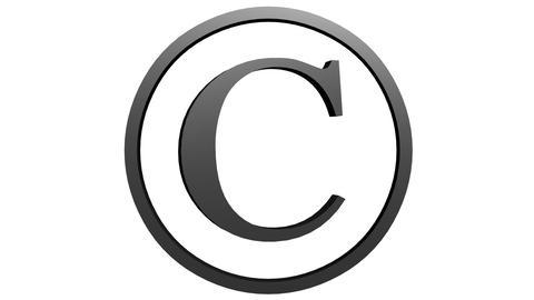 Animated Copyright Symbol 2 Animation