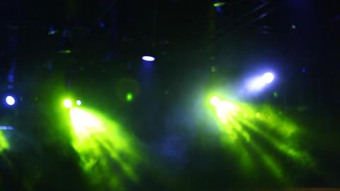 Laser show lights in Resort Footage