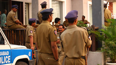 Indian Police Recruitment centre Live Action
