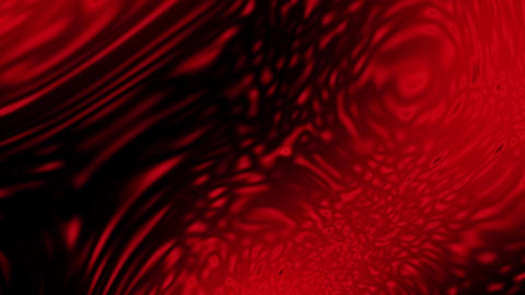 Red Surface with Abstract Water Waves Loopable Background Animation