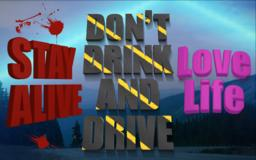 DONT DRINK & DRIVE Vector