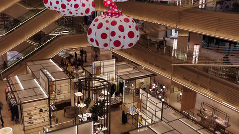 People Shopping At Ginza Six Mall In Tokyo Japan Asia Image
