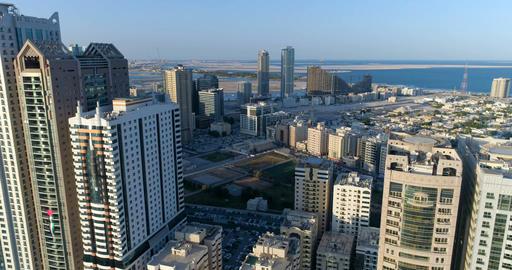 Skyscrapers of the big city. Sharjah. United Arab Emirates Image