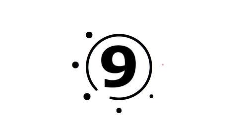 Mograph - Countdown Animation