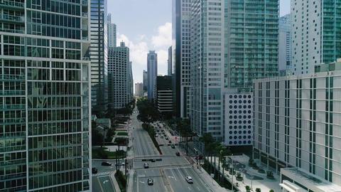 Miami aerial slow motion Footage