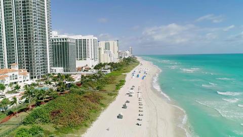 4K ultra aerial Miami Image
