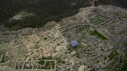 Aerial View of the ancient Thracian city of Perperikon, 6000 BC, Bulgaria 画像