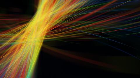 Abstract Light Streaks. Seamless loop Footage