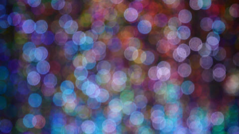 4K Video loop of Abstract colorful bokeh background from light Footage