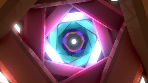 [alt video] VJ glow tunnel 001