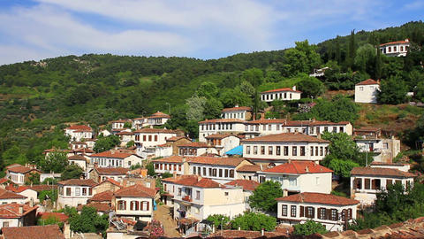 Eye-catching residential architecture is typical of Sirince Village. Almost all Image