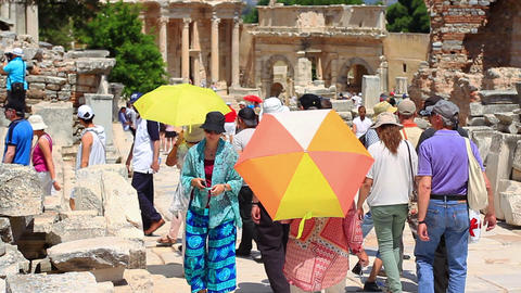 Efes city was the trade center of ancient world, a religious center of the early Live Action