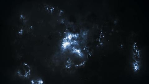 Grey Storm Clouds 4K Animation