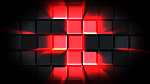 VJ Disco Cube Animación
