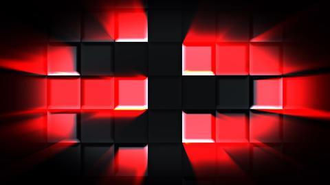 VJ Disco Cube, Stock Animation