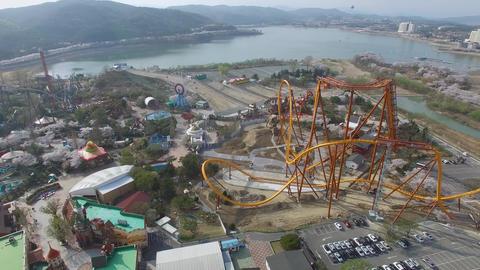 Spring of Bomun Park at Gyeongju 08 Footage