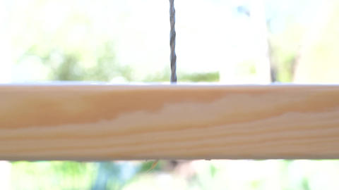 Closeup of drilling a hole in wooden plank Footage