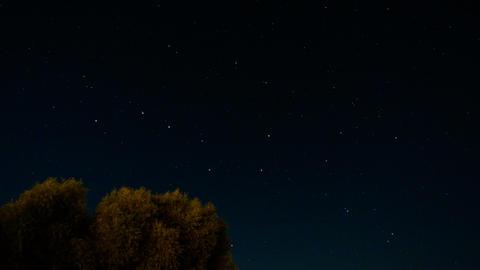 Night Stars Timelapse GIF