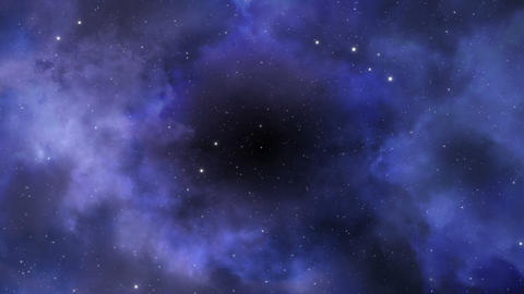 Deep Space Background Loop Animation