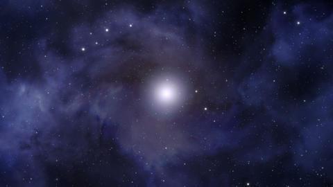 Deep Space Background Loop Animation