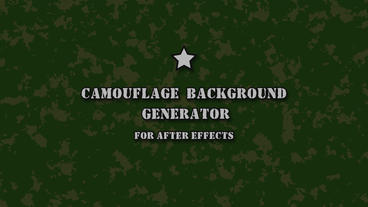 Сamouflage background generator After Effects Template