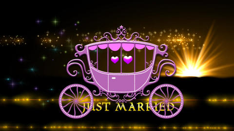 JUST MARRIED CG動画素材