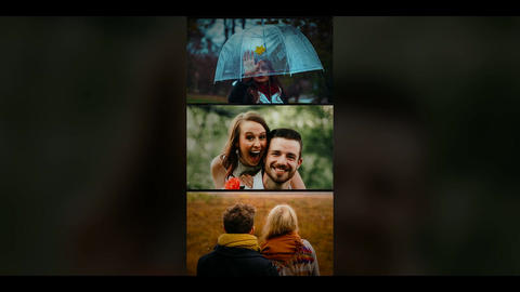 Vertical Multi Photo(3 Version) After Effects Template