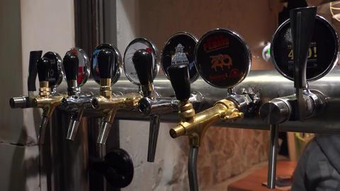 Beer tap. 4K Live Action