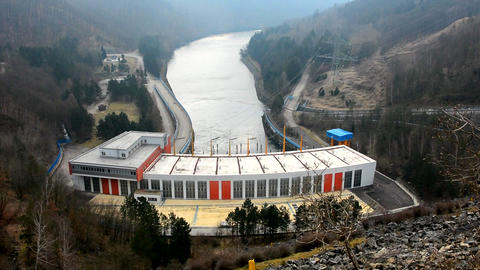 Hydroelectric Power Station on the Dalesice Dam Image