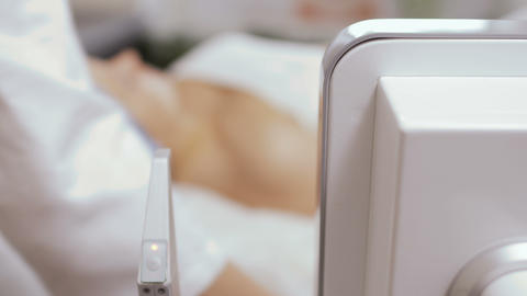Beautician prepares patient for non-injection oxygen mesotherapy Footage
