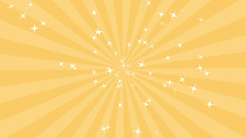 concentration line background yellow Animation