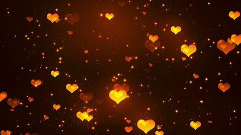 Hearts Background 6 Loopable Background Animation