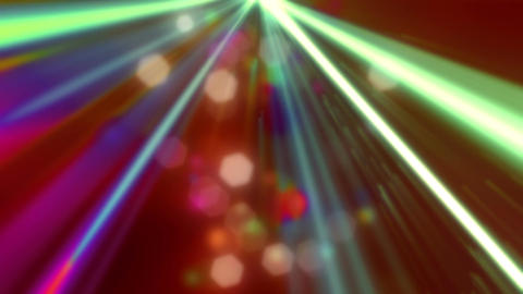 Party Laser Lights 4 Loopable Background Animation