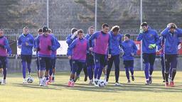Training session of Ukraine National Football Team Footage