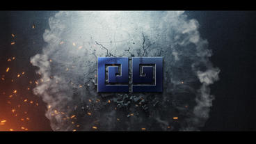 Cracks Logo Premiere Pro Template
