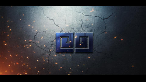 Cracks Logo Premiere Pro Template