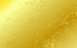 Gold scratched texture vector background Vector