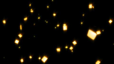 Confetti gold Animación