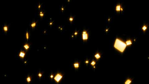 Confetti gold 4K Animation