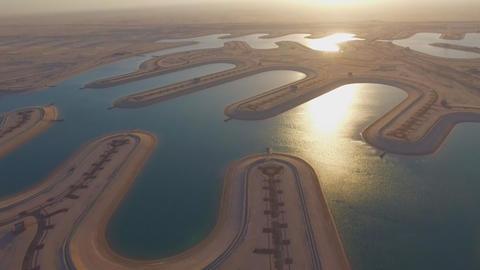 Kuwait, Al-Medide. Artificial bulk islands for the construction of houses. Archivo