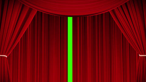 Curtain scene Animation