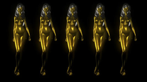Goldfrau Army Is Comming For You Full Hd Vj Loop Animation