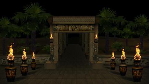 [alt video] Mysterious Egyptian Temple Full HD VJ Loop