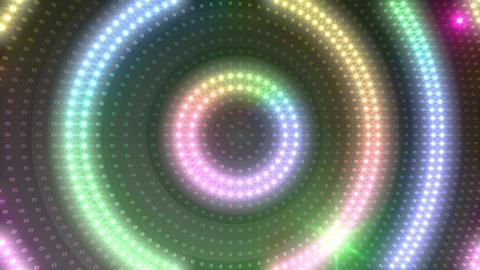 LED Wall 18 5 Circle Ma1 4k CG動画